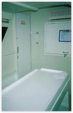 前の船室写真