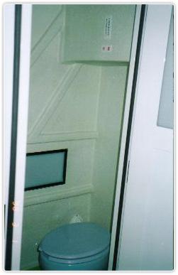 女子洋式トイレの写真